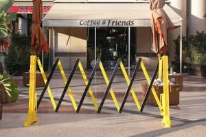 Xpandit Expandable Plastic Barrier Easy Set Up And